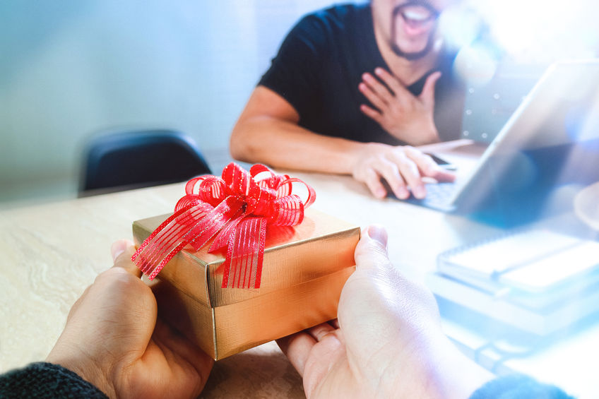 Give holiday gifts at work that hit the mark.