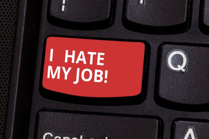 Hate Your Job? Learn what to do if you work in a toxic environment