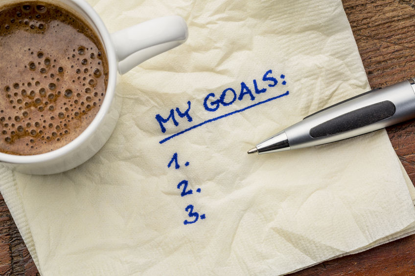 Finish last year's goals instead of making new resolutions this year.