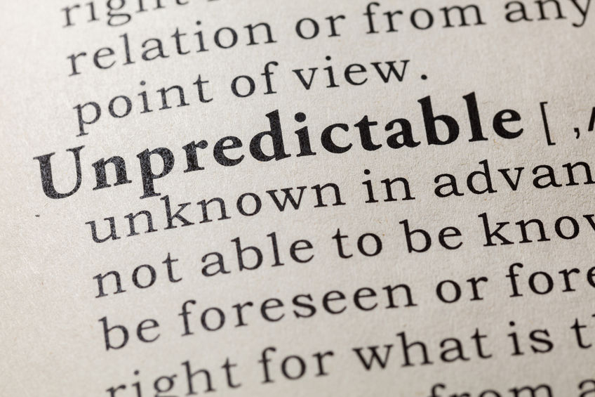 Learn how to deal with the unpredictable